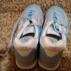 New Balance Blue/grey shoes